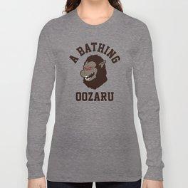 A Bathing Oozaru Long Sleeve T-shirt