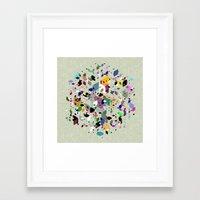 breaking Framed Art Prints featuring Breaking Free by Angelo Cerantola