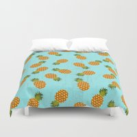 hawaii Duvet Covers featuring Hawaii by Kakel