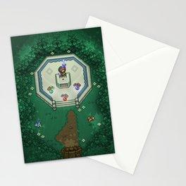 Zelda Mastesword Pixels Stationery Cards