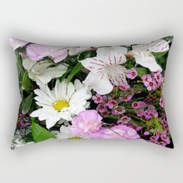 Birthday Flowers 2 Rectangular Pillow