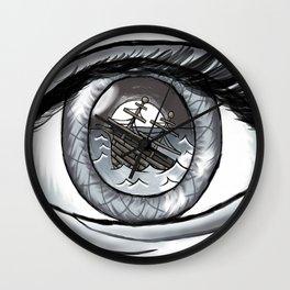 Ocean Eye Wall Clock