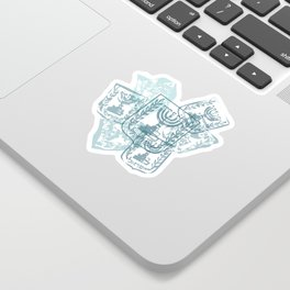 Emblem of Israel Sticker