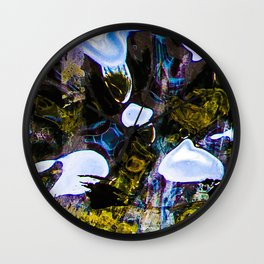 My Heart Sinks at the Bottom of a Fish Tank Wall Clock