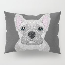 Cream French Bulldog Pillow Sham