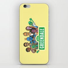 Sunny Days at Greendale iPhone & iPod Skin