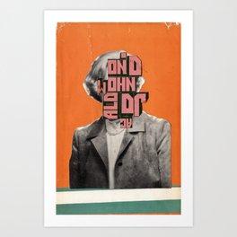 Cover Combine #13 Art Print