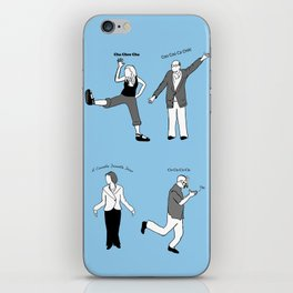 Chicken Dance The Night Alway  iPhone Skin