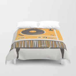 Vinyl Deck Duvet Cover