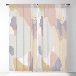 Peachy Purple Blackout Curtain