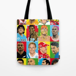 select your athlete Tote Bag