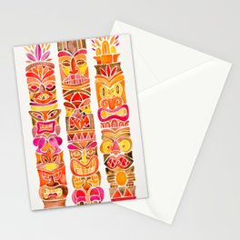Tiki Totems – Fiery Palette Stationery Cards