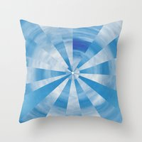 skyfall Throw Pillows featuring SKYFALL by Twntÿandsevn