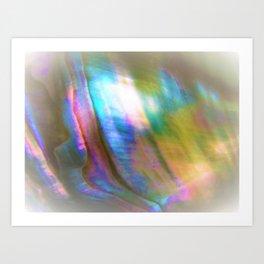 Peaceful Abalone Art Print