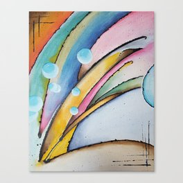 Birth of a Wave Canvas Print