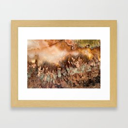 Idaho Gem Stone Framed Art Print