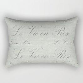 Le Vie en Rose Design I Rectangular Pillow