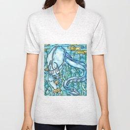 Underwater Panther Unisex V-Neck