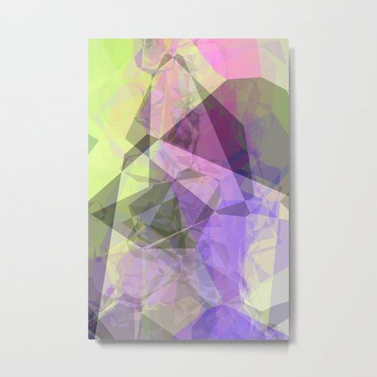 Polygon Metal Print