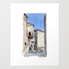 Le Viol du Roux - Chatillon en Diois Art Print