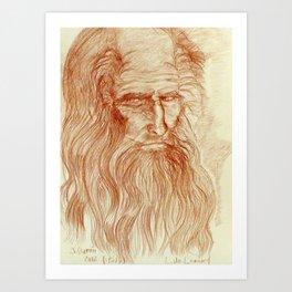 Like Leo by J. Baron Art Print