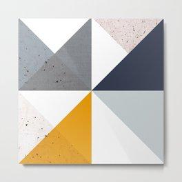 Modern Geometric 18/2 Metal Print