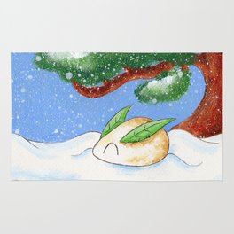Snow and Mochi Rug
