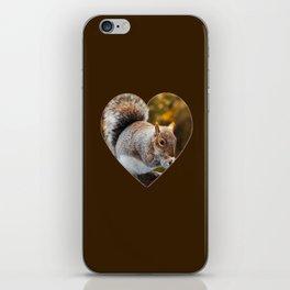 Squirrel nutkin iPhone Skin