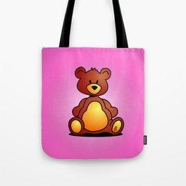 Cuddly Teddy Bear Tote Bag