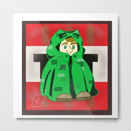 Creeper Gavin Metal Print