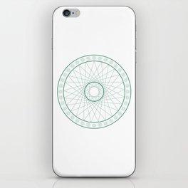 Anime Magic Circle 6 iPhone Skin