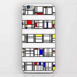 "Math Art Digital Print - ""mondRian"" iPhone Skin"