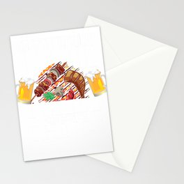 That's What I Do I Drink I Grill And Know Things Funny Gift Stationery Cards