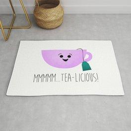 Mmmmm... Tea-licious! Rug