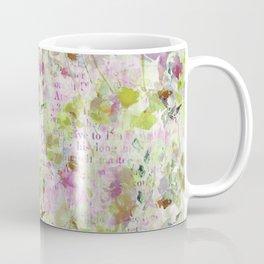 des fleurs et des mots Coffee Mug