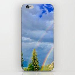 Canadian Rocky Rainbow iPhone Skin