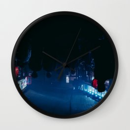We only come out at night Wall Clock