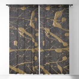 Abstract background 34 Blackout Curtain