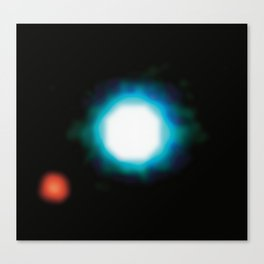 Exoplanet First Ever Image Canvas Print
