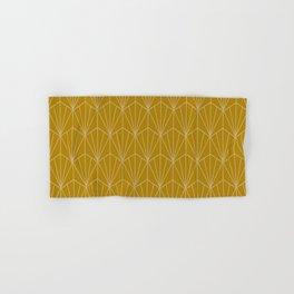 Art Deco Vector in Gold Hand & Bath Towel