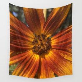 Sunburst Sunflower Wall Tapestry