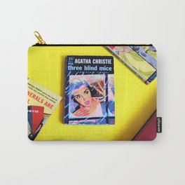 Agatha Christie Three Blind Mice Carry-All Pouch