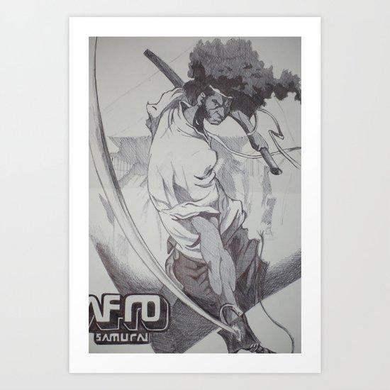 Biro Samurai  Art Print