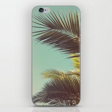 Autumn Palms iPhone Skin