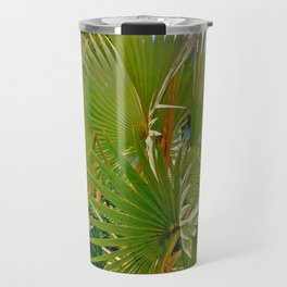 Large Palm in Naples Florida Travel Mug