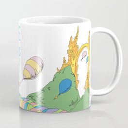 YOUR MOUNTAIN IS WAITING.. DR. SEUSS, OH THE PLACES YOU'LL GO  Coffee Mug