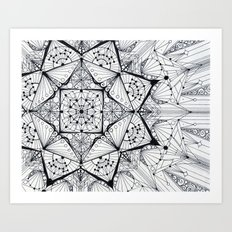 integration Art Print