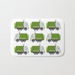 Garbage Truck Bath Mat