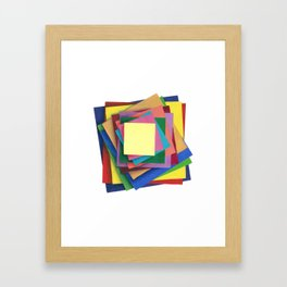 Paper Illusion Framed Art Print
