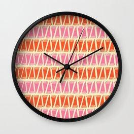 Tee Pee Sixties Wall Clock